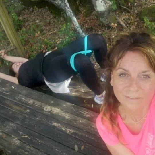 allenamento funzionale con Anna Chiara Ferri in esterno