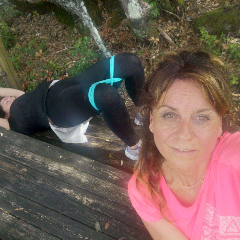 allenamento funzionale esterno - Anna Chiara Ferri Fisioterapista Osteopata
